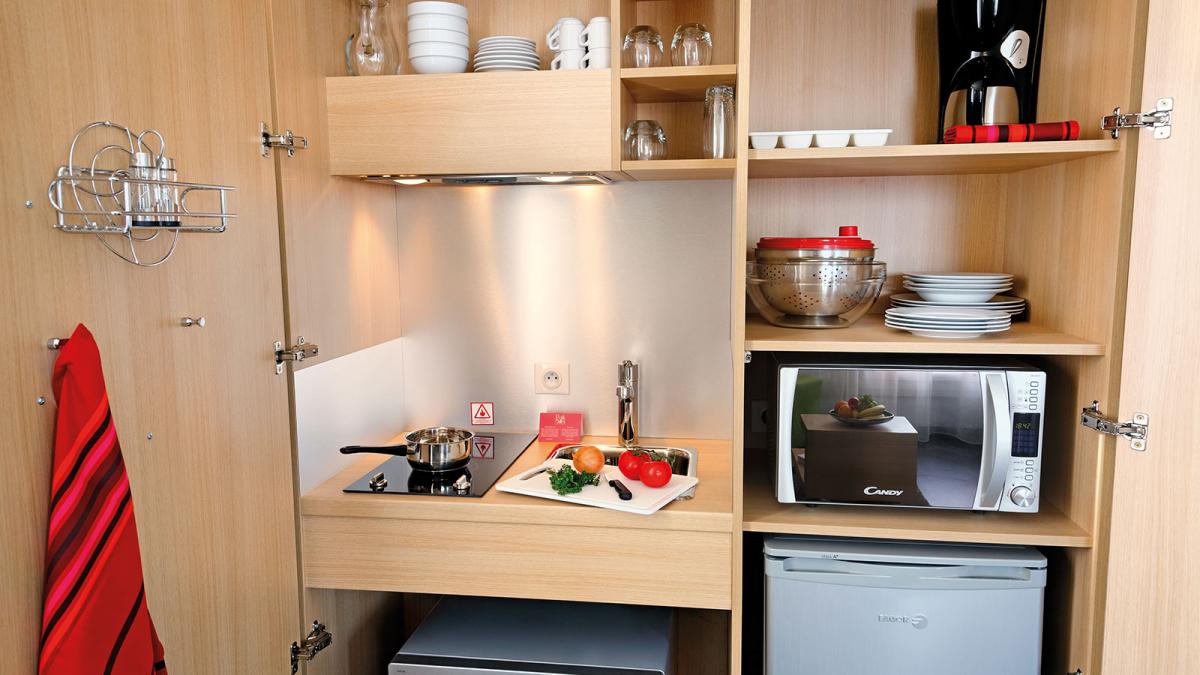 Appart hotel reims votre appartement h tel appart 39 city for Cuisine plus reims