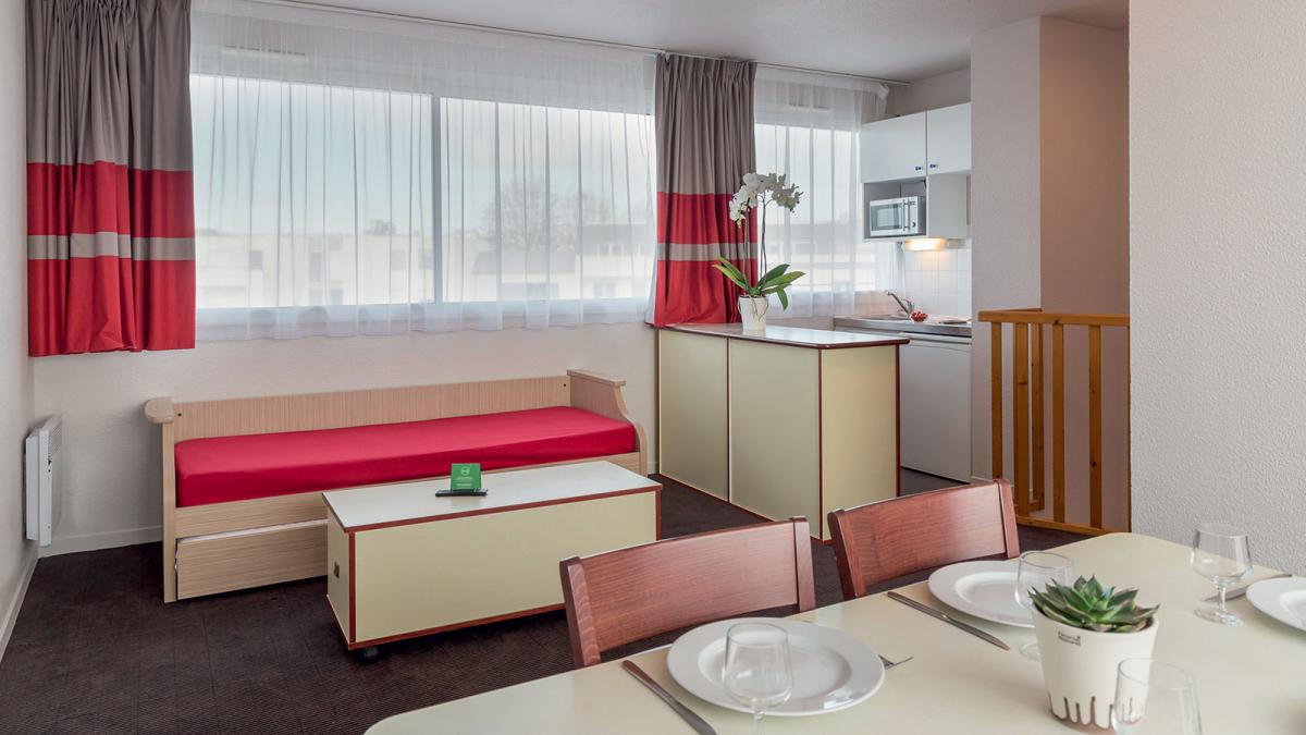 appart hotel la rochelle votre appartement h tel appart 39 city la rochelle. Black Bedroom Furniture Sets. Home Design Ideas